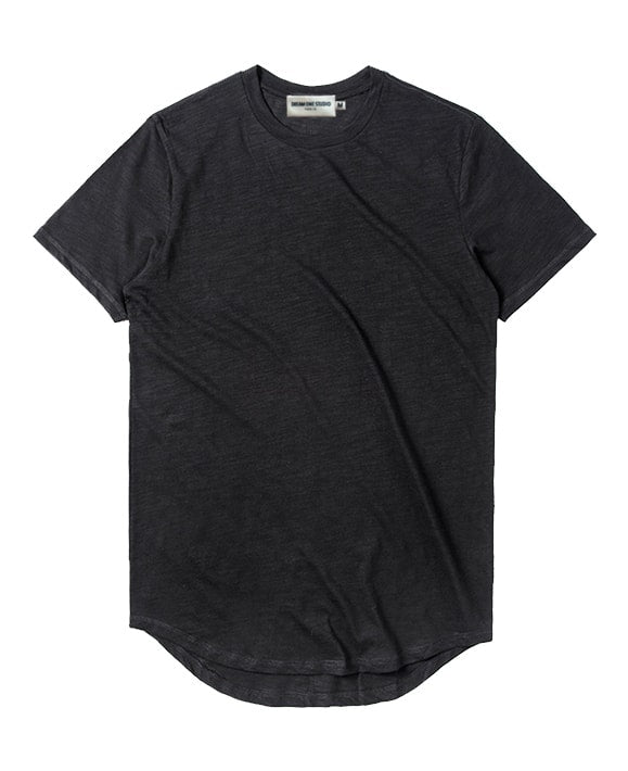 Slubcotton tee DreamOneStudio Black