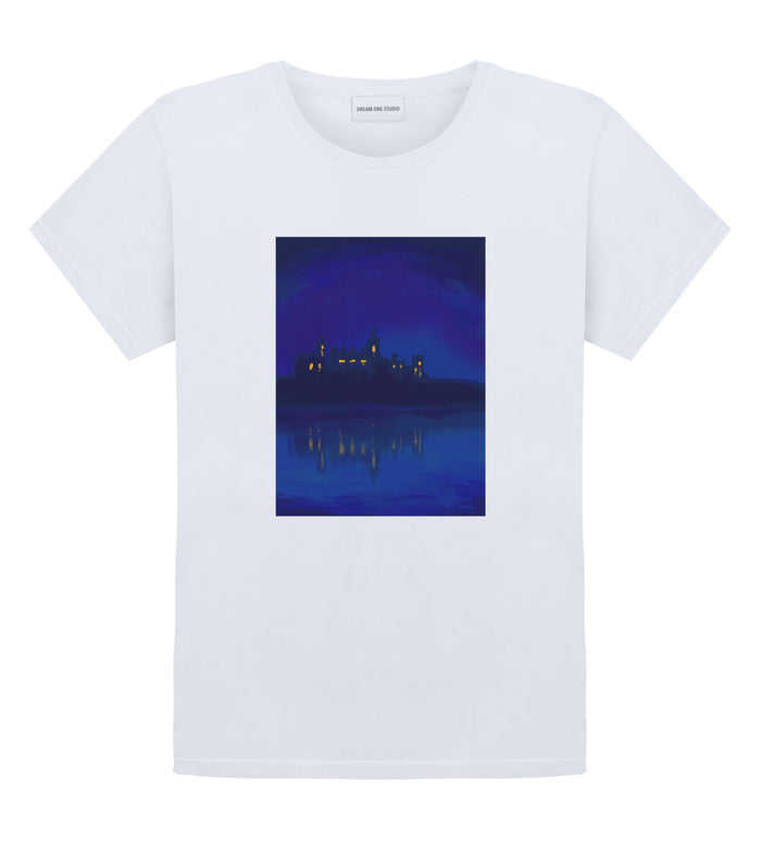 T-Shirt Unisex Blanc 100% Coton organique - Hometown
