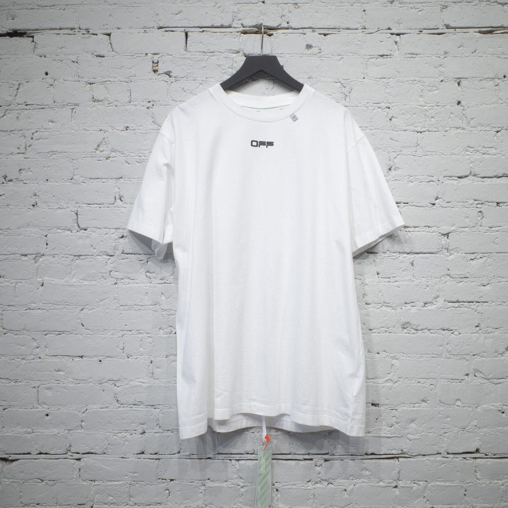 SS T SHIRT OVER CARAVAGGIO SQUARE WHITE
