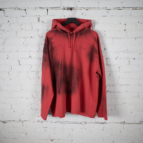 HOODED SWEATSHIRT RED