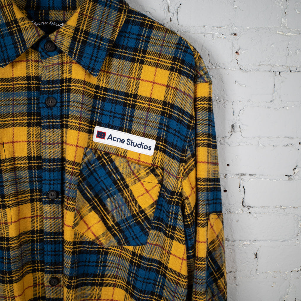 FLANNEL SHIRT YELLOW