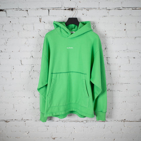 HOODED SWEATSHIRT GREEN