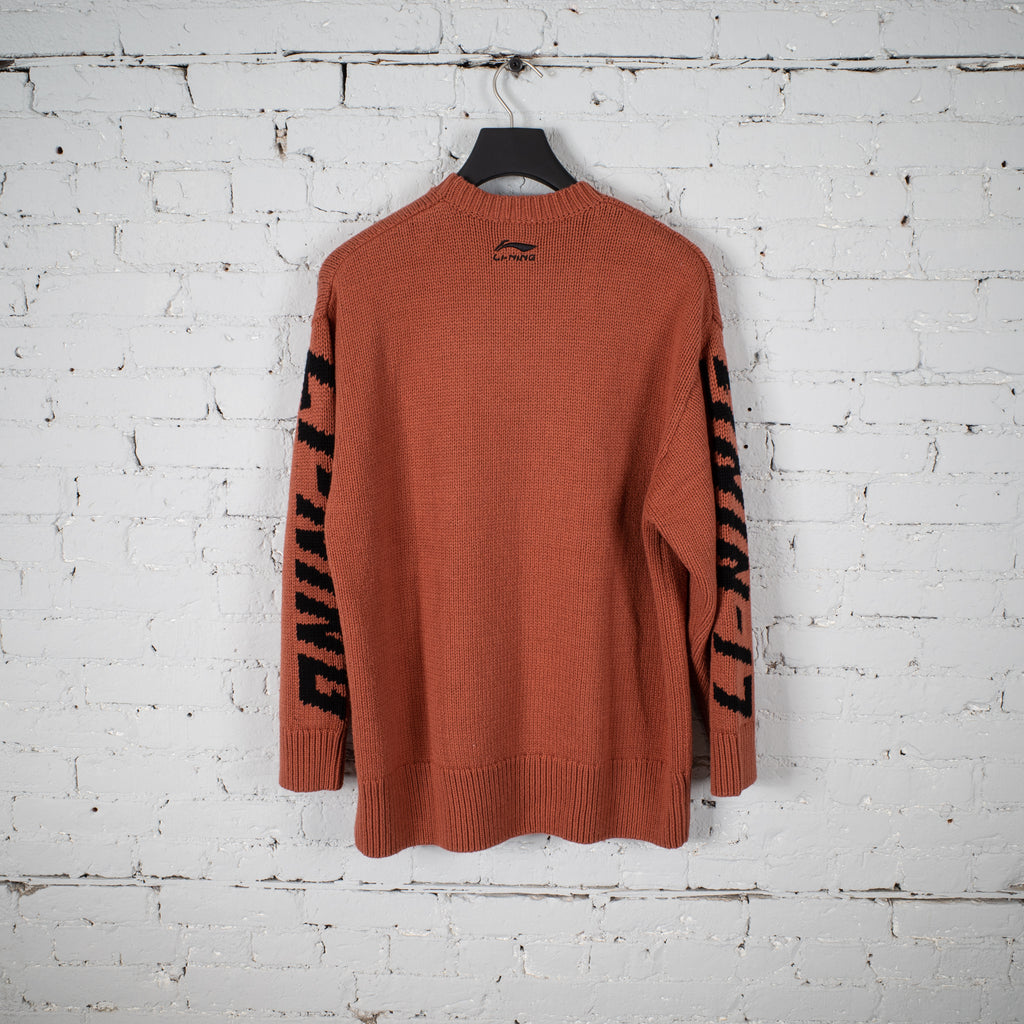 KNIT SWEATER ORANGE