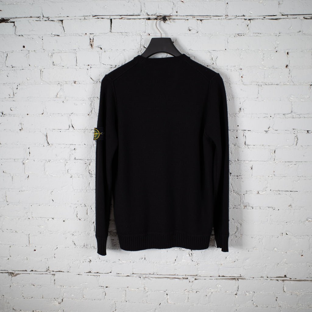 KNIT SWEATER BLACK
