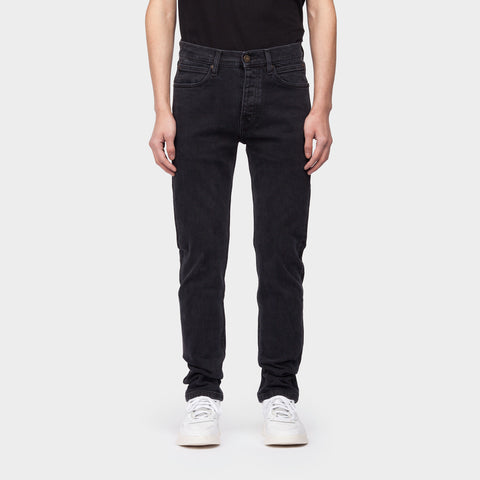 NARROW BLACK STONE JEANS