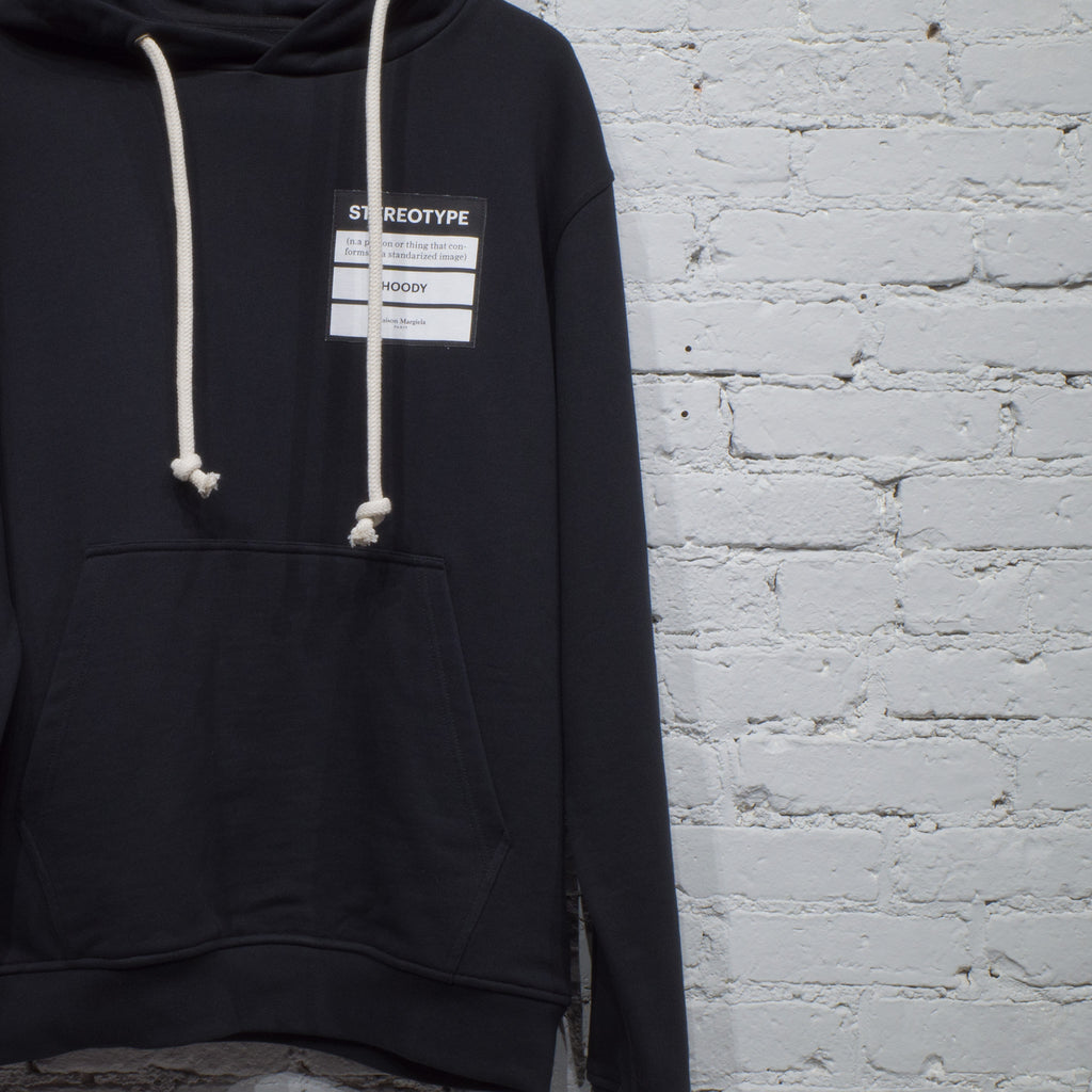 HOODED SWEATSHIRT STEREOTYPE BLACK