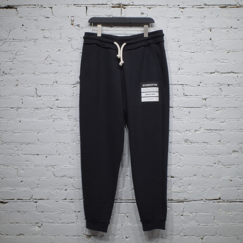 STEREOTYPE SWEATPANT BLACK