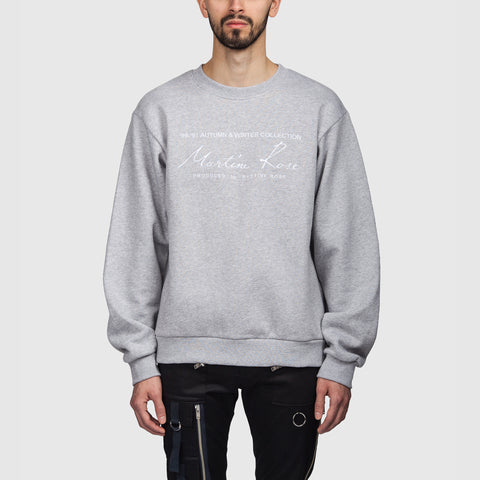 Crew Sweatshirt Grey