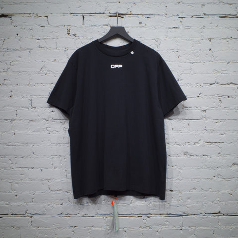 SS T SHIRT OVER CARAVAGGIO SQUARE BLACK