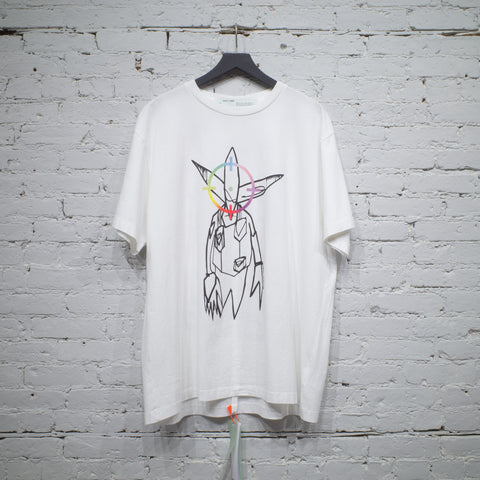 SS T SHIRT OVER FUTURA WHITE