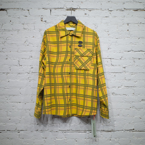 FLANNEL CHECK SHIRT YELLOW