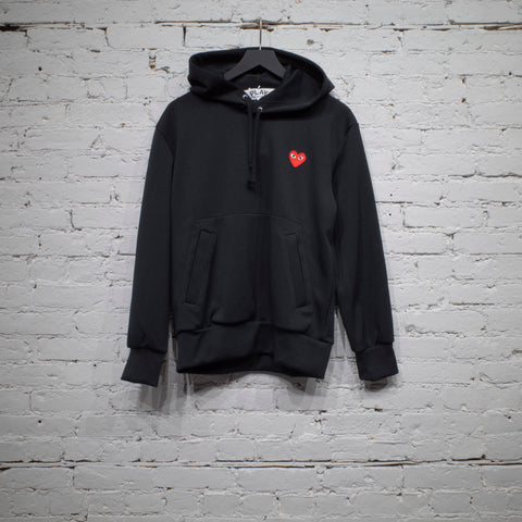 HOODED SWEATSHIRT BLACK