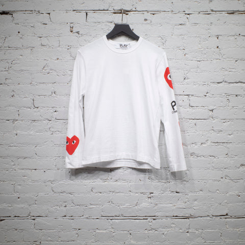 LS T SHIRT WHITE