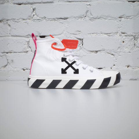 MID TOP SNEAKERS WHITE