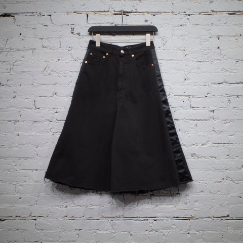 DENIM SHORT BLACK