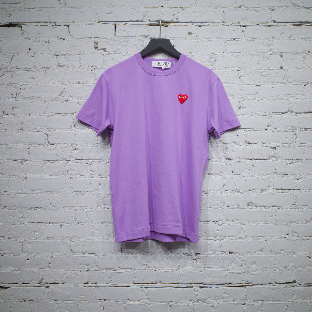 SS T SHIRT PURPLE RED HEART