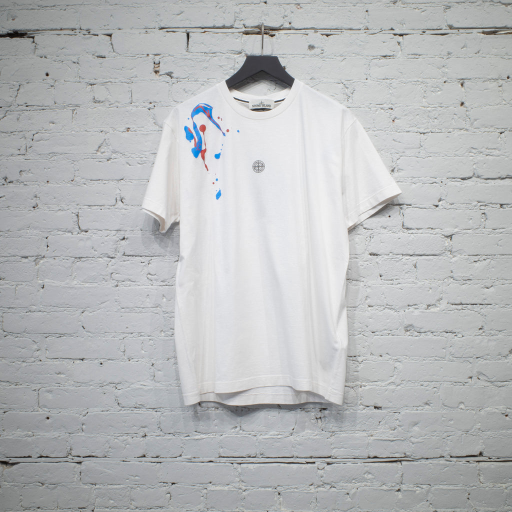 SS T SHIRT PAINT IVORY