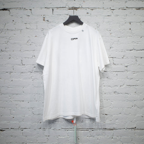 SS T SHIRT OVER CARAVAGGIO ARROW WHITE