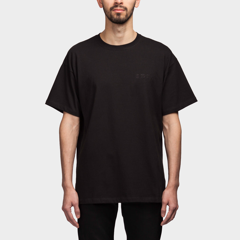 Big Fit Bald Head SS T Shirt Black