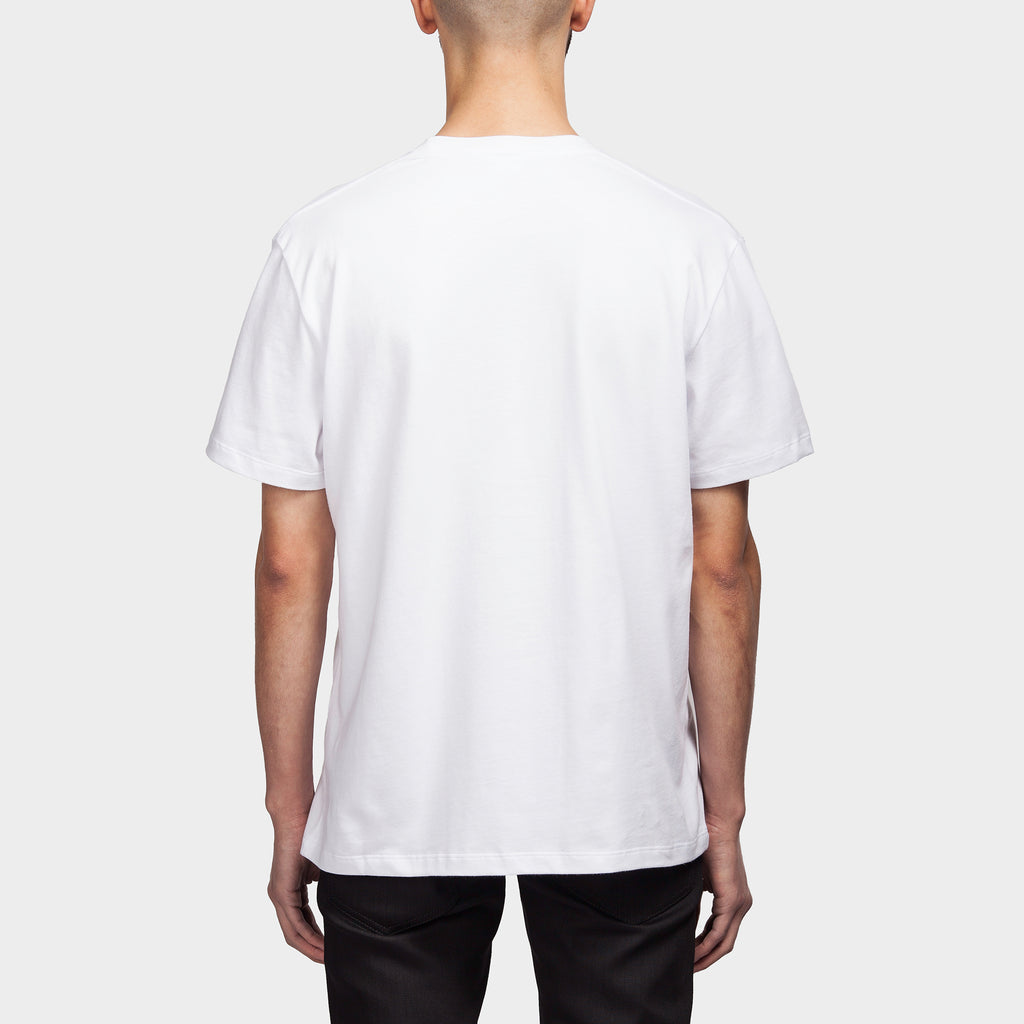 Slim Fit Clubbers SS T Shirt White