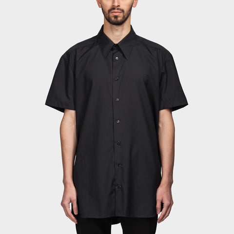 Clubbers Button Down Shirt Black
