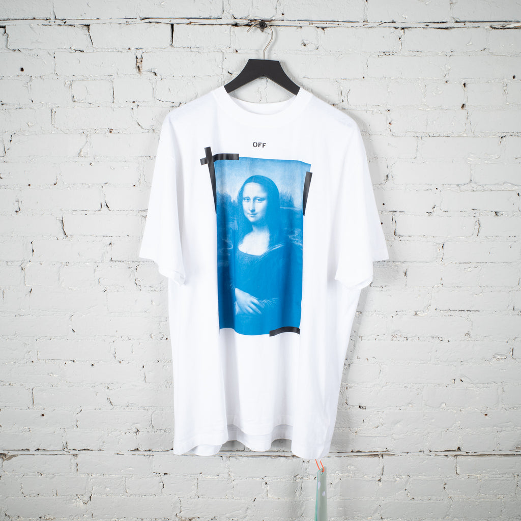 MONA LISA OVER SS T SHIRT WHITE
