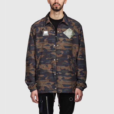 Camo Bloody Geekers Jacket Beige