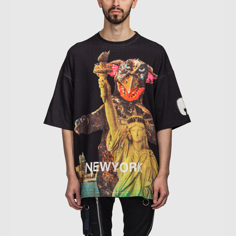 Oversize New York SS T Shirt