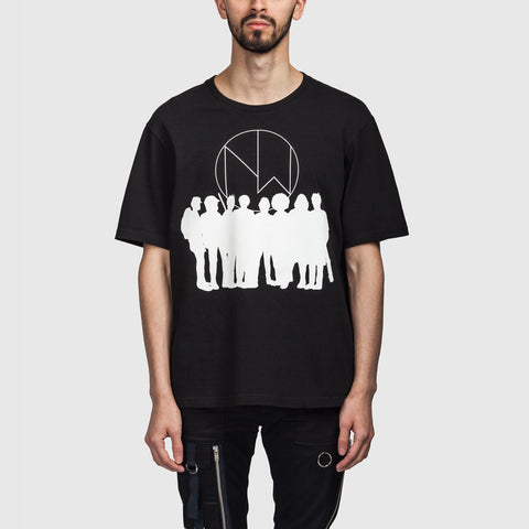 New Warriors SS T Shirt Black