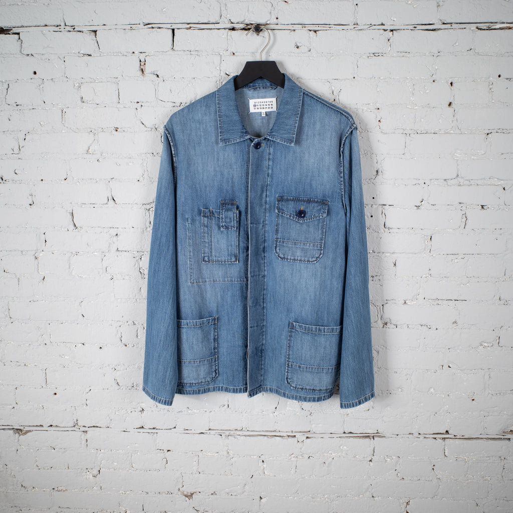 DENIM SHIRT INDIGO