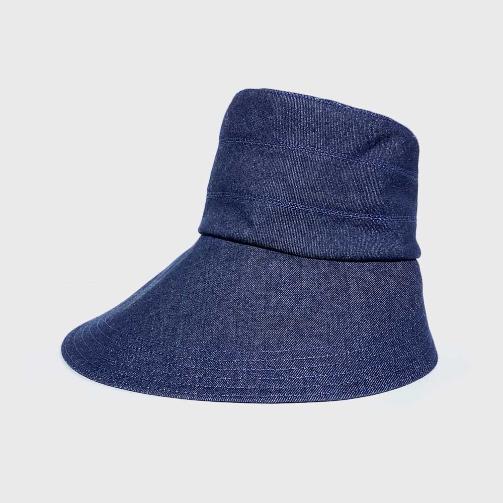 Denim esther hat
