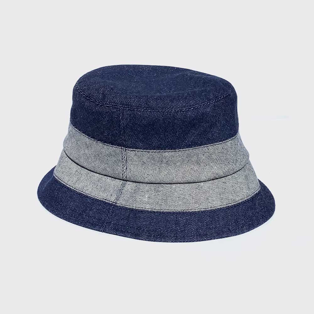 Indigo slice hat