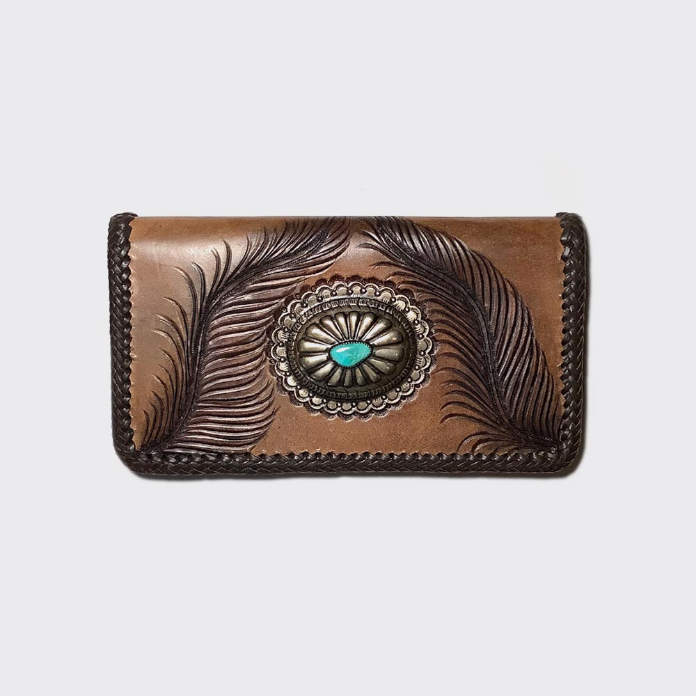 Eagle feather wallet