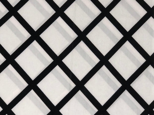 ITY Knit Geometric Print Fabric - wholesale fabric