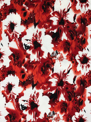 Liverpool Knit Floral Print Fabric