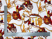 Liverpool Knit Chain Print Fabric