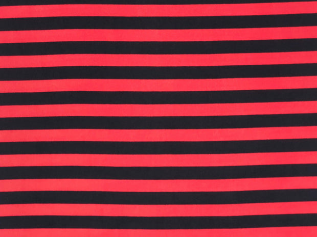 ITY Knit Stripe Print Fabric - wholesale fabric