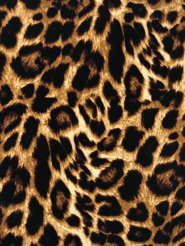 ITY Knit Animal Print Fabric - Express Knit Inc.