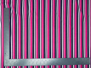 Techno Crepe Knit Multicolor Stripe Print Fabric - Express Knit Inc.