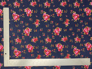 ITY Knit Floral Print Fabric - Express Knit Inc.