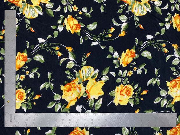 ITY Knit Floral Print Fabric