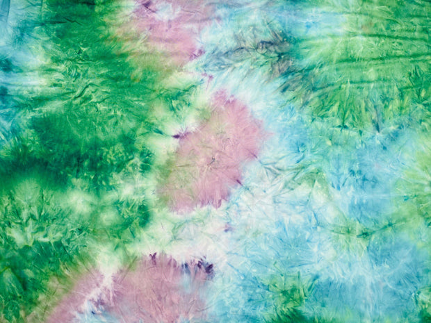 DTY Brushed Knit Tie Dye Fabric