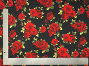 Liverpool Knit Floral Print Fabric - Express Knit Inc.