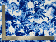 Liverpool Knit Tie Dye Print Fabric