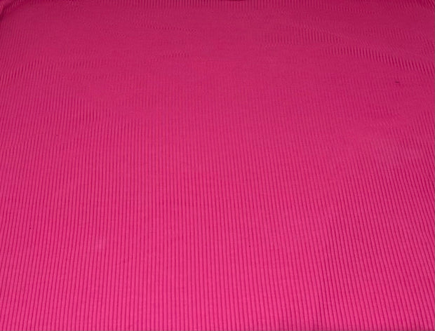 4x2 Rib Knit Solid Fabric