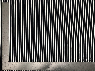 DTY Double Sided Brushed Knit Vertical Summer Stripes Print Fabric - Express Knit Inc.