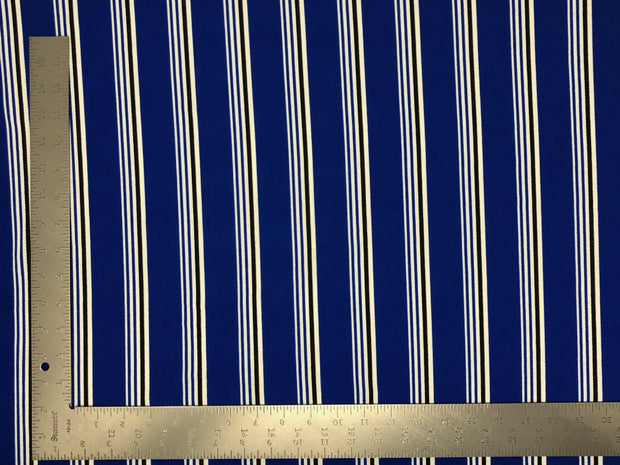 Liverpool Knit Stripe Print Fabric