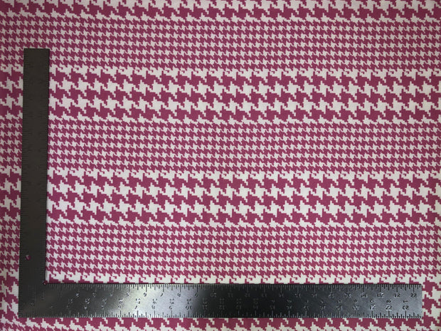 Liverpool Knit Houndstooth Print Fabric - Express Knit Inc.