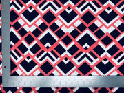 Liverpool Knit Geometric Print Fabric
