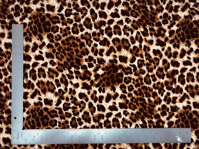 Liverpool Knit Animal Print Fabric